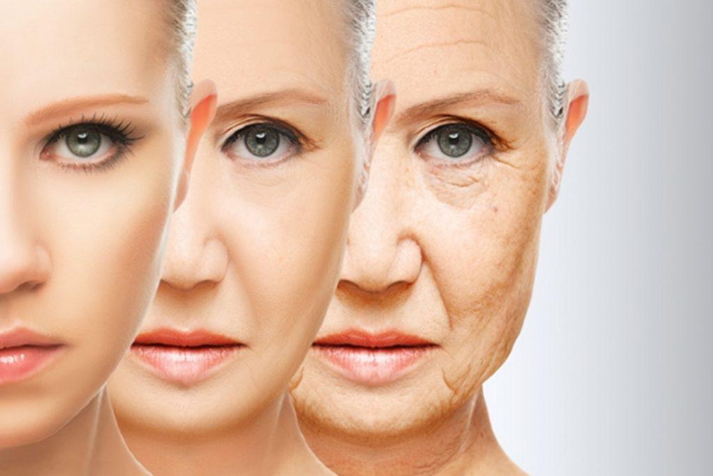 Três mulheres em diferentes idades