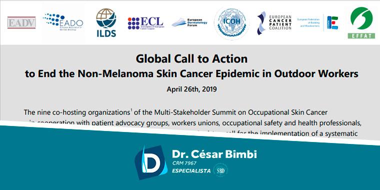 Dr. César Bimbi faz parte do Grupo de Trabalho Global Call to Action.